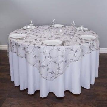 manteles para mesa redonda grande