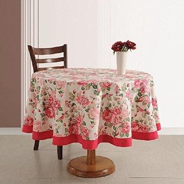 manteles para mesa redonda pequeña