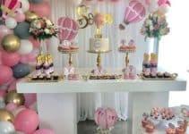Adornos de mesas decoradas para fiestas en 4 estilos