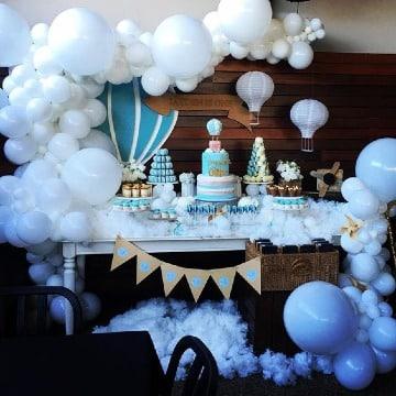 mesas decoradas para fiestas niño