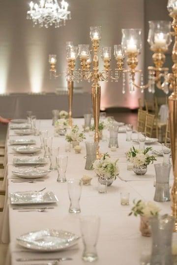 modelos de candelabros para centros de mesa