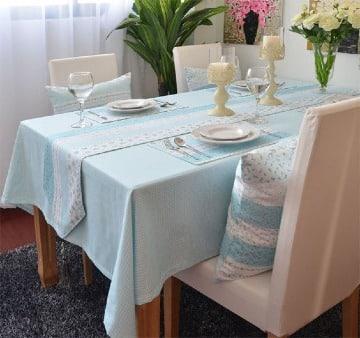 modelos de manteles para mesa rectangular