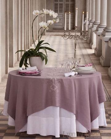 modelos de manteles para mesa redonda