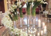 Exclusivos centros de mesa con calas para bodas 2019
