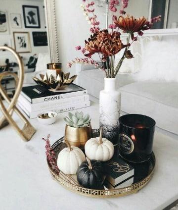 centros de mesa para el hogar salas