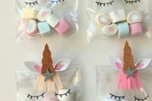 4 ideas de bolsitas de dulces para niños en cumpleaños