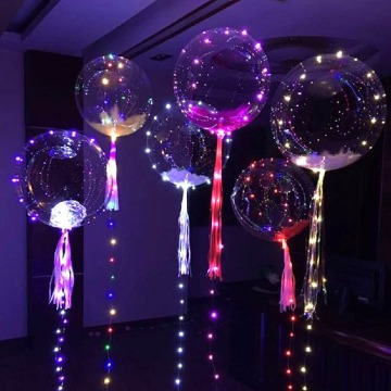 globos gigantes decorados led
