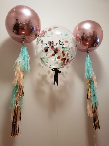 globos gigantes decorados para fiestas