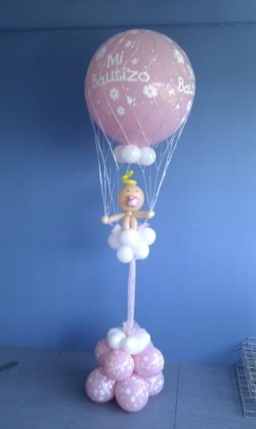 globos personalizados para bautizo de bebe
