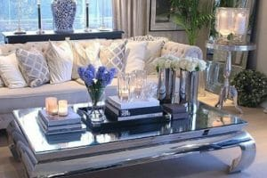 Elegantes ideas de adornos para mesa de sala 2019