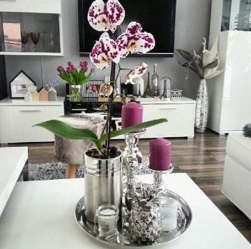 imagenes de centros de mesa para el hogar