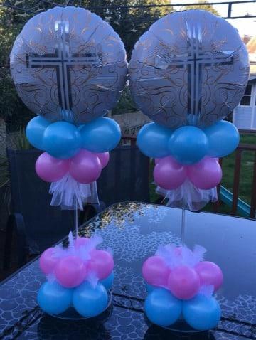 imagenes de globos de helio para bautizo