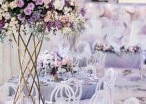 Ornamentos centros de mesa con floreros modernos 2019