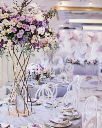 modelos de centros de mesa con floreros