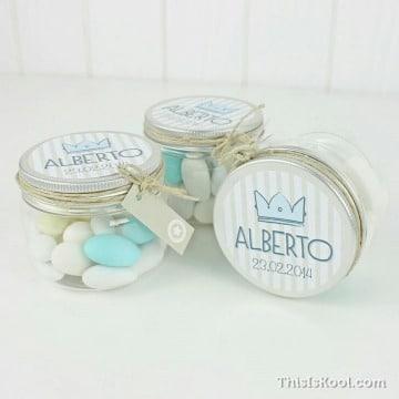 recuerdos para bautizo con dulces faciles