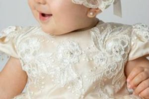 3 diademas de bautizo para niña de facil realizacion
