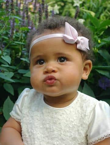 diademas de bautizo para niña sencilla con lazo