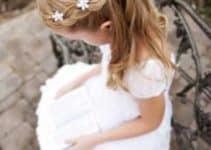 Peinados para bautizo de niña de 2 años en adelante