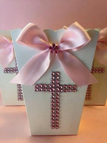 imagenes de dulceros para bautizo de niña