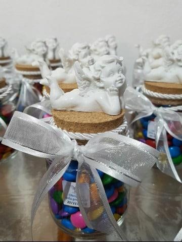 imagenes de dulceros para bautizo de niño