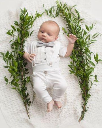 ternos de bautizo para niños de 1 año