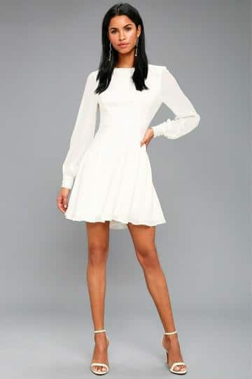 vestidos cortos para bautizo madrina
