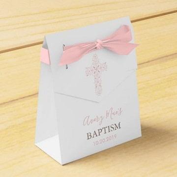 cajitas para recuerdos de bautizo personalizadas