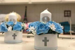 4 estilos de recuerdos de mesa para bautizo