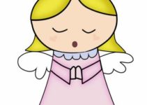 Dibujos de angeles para bautizo para decorar tus recuerdos