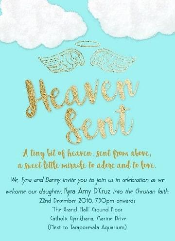 diseños de invitaciones de bautizo de niño