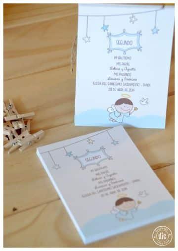 etiquetas para recuerdos de bautizo de niño