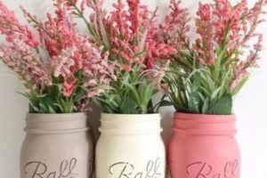 4 ideas de frascos decorados para bautizo