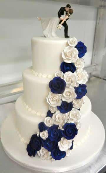 imagenes de pasteles de fondant para boda