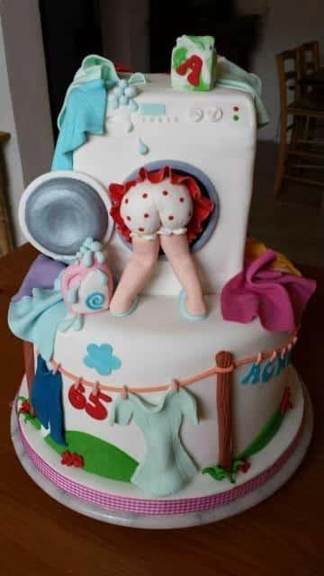 imagenes de pasteles de fondant para mujeres