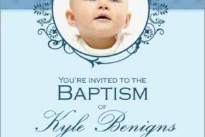 4 ideas para hacer invitaciones de bautizo con foto