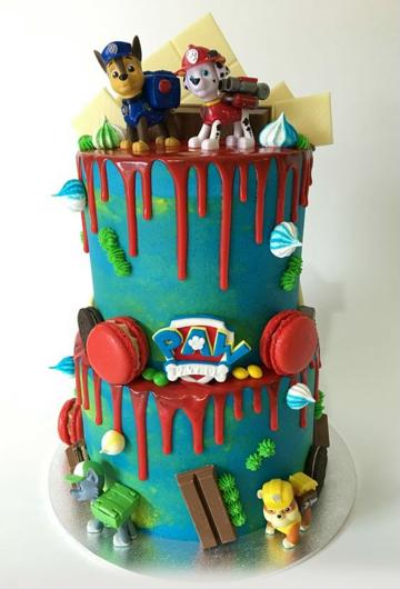 pasteles infantiles para niño paw patrol