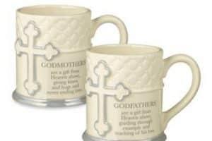 4 increíbles diseños de tazas de recuerdo para bautizo