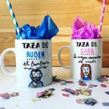 tazas decoradas para regalar personalizadas