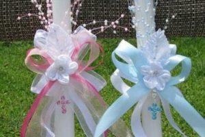 Aprende a decorar velas de primera comunion