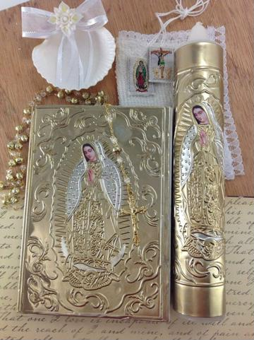 velas para bautizo de niña elegante