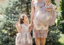 4 hermosos vestidos para bautizo mama