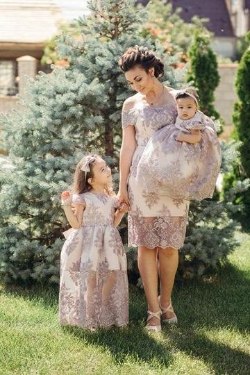 vestidos para bautizo mama elegante