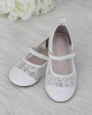 zapatos de primera comunion tipo bailarina