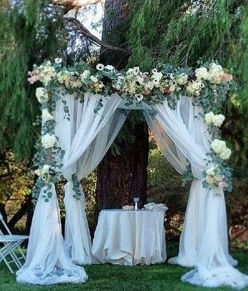como hacer decoracion para boda civil