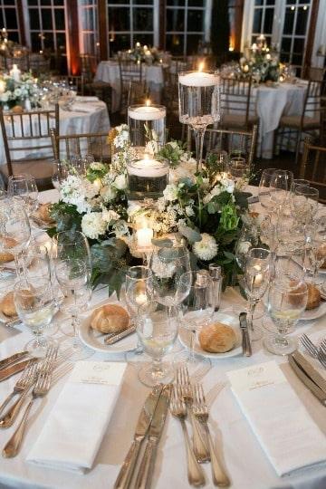 decoracion de mesa de matrimonio civil