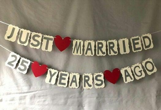 decoracion para aniversario de boda sencilla