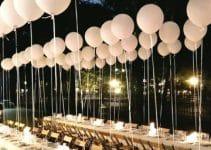 4 ideas para hacer centros de mesa con globos