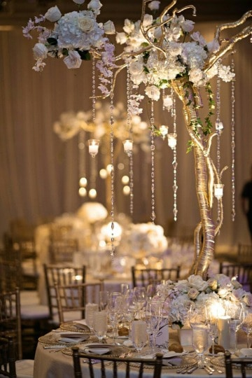 ideas de decoracion de mesa de matrimonio