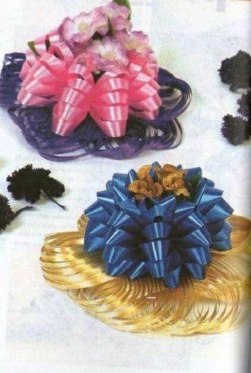 imagenes de adornos con cinta de agua