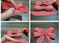 Aprende rápido a como hacer lazos con cinta